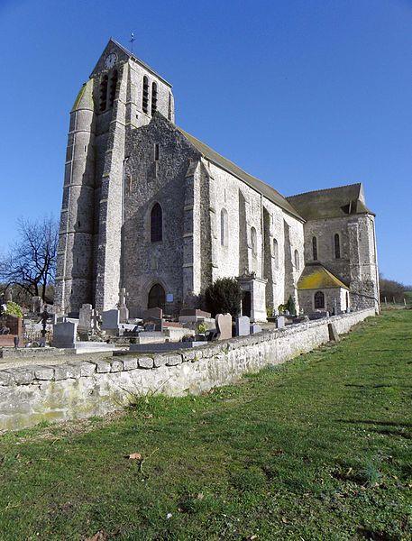 Photo du Monument Historique Eglise Saint-Pierre et Saint-Paul situé à Bouillancy