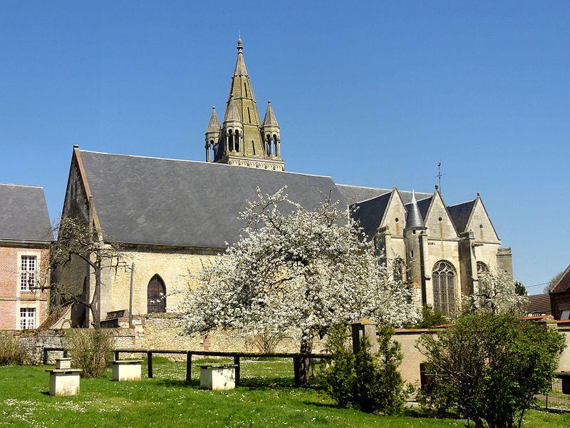 Photo du Monument Historique Eglise situé à Bresles