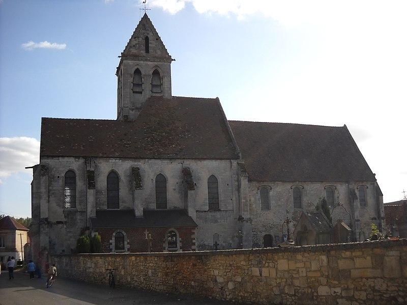 Photo du Monument Historique Eglise situé à Breuil-le-Vert