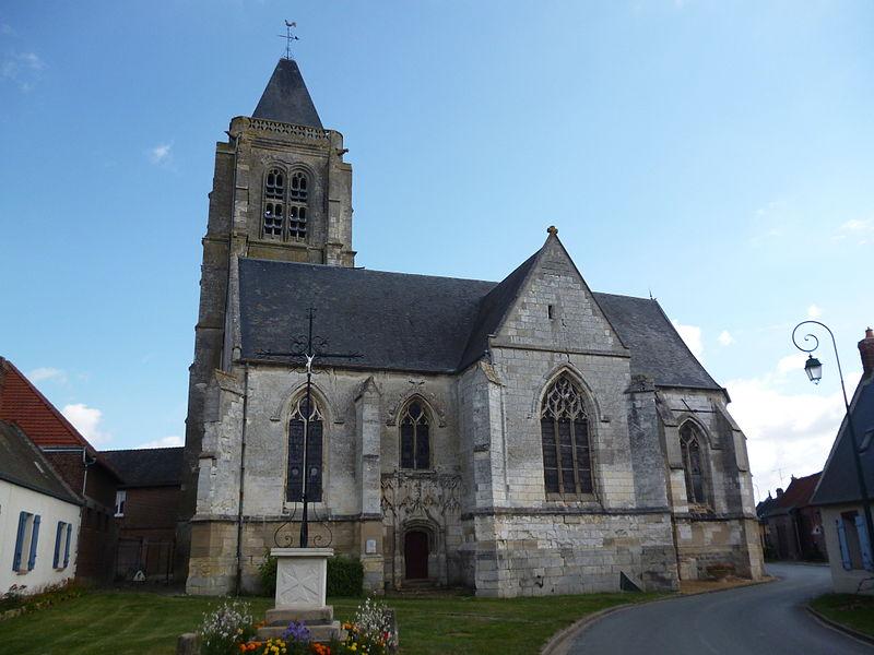 Photo du Monument Historique Eglise Saint-Michel situé à Brunvillers-la-Motte