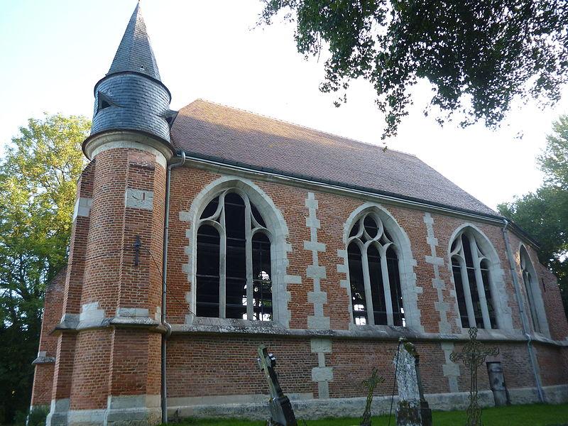 Photo du Monument Historique Chapelle des Trois-Etots situé à Cernoy