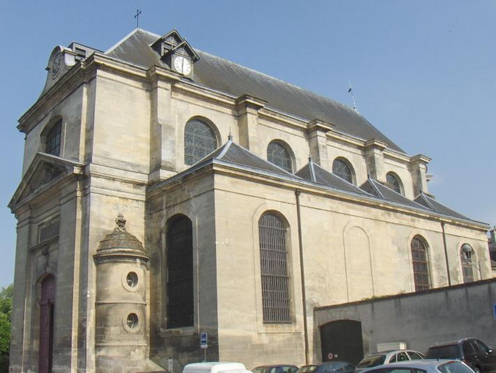 Photo du Monument Historique Eglise Notre-Dame de l'Assomption situé à Chantilly