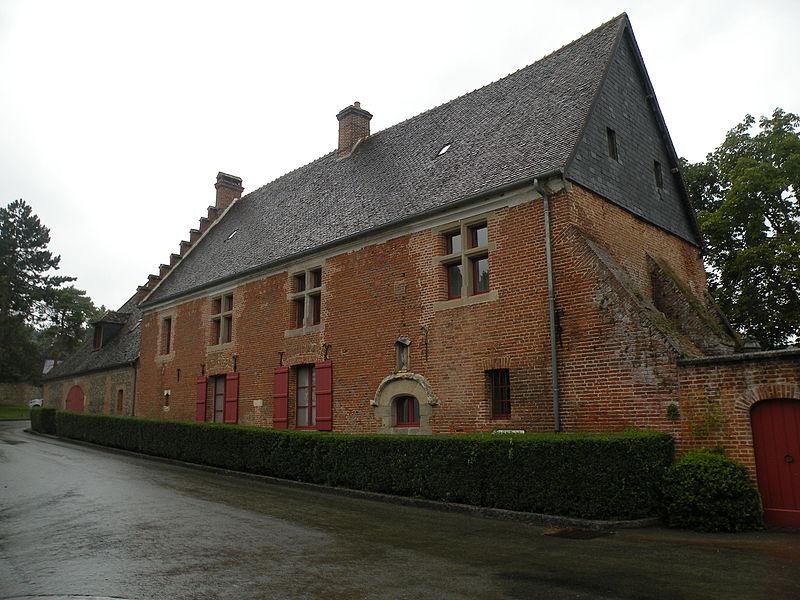 Photo du Monument Historique Ferme de Vidame situé à Gerberoy