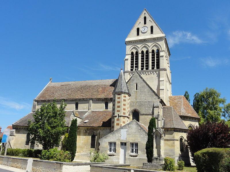 Photo du Monument Historique Eglise de la Sainte-Trinité situé à Choisy-au-Bac