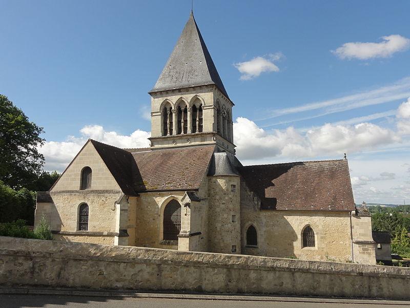 Photo du Monument Historique Eglise situé à Clairoix