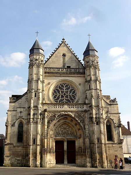 Photo du Monument Historique Eglise Saint-Antoine situé à Compiègne