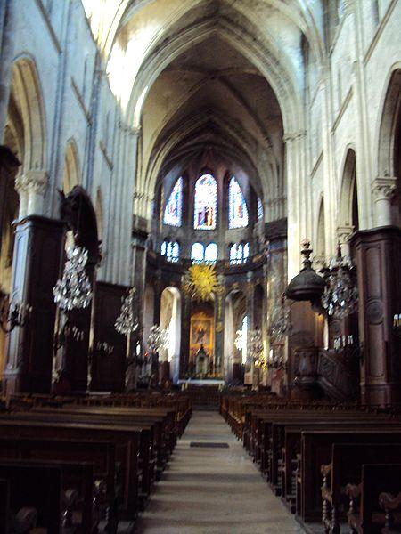 Photo du Monument Historique Eglise Saint-Jacques situé à Compiègne