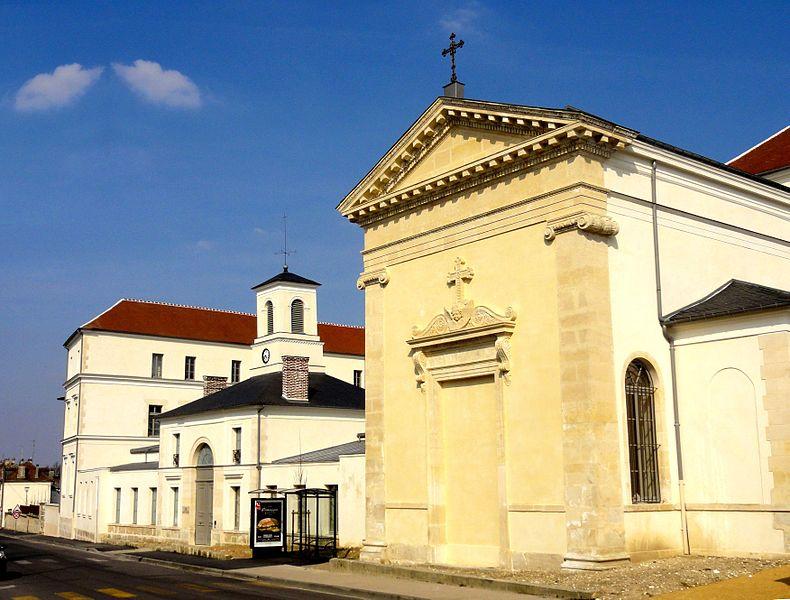 Photo du Monument Historique Ancien Hôpital Saint-Joseph situé à Compiègne