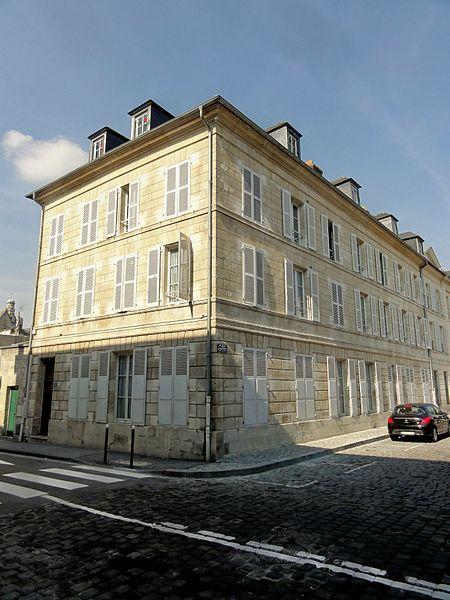 Photo du Monument Historique Hôtel situé à Compiègne
