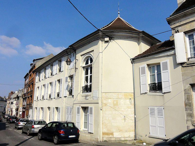 Photo du Monument Historique Immeuble situé à Compiègne