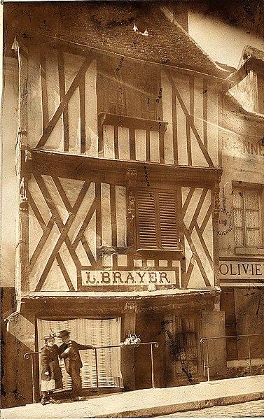 Photo du Monument Historique Maison situé à Compiègne