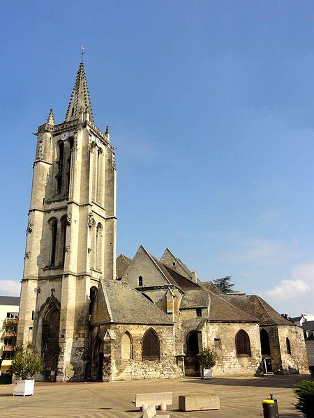 Photo du Monument Historique Eglise Saint-Médard situé à Creil