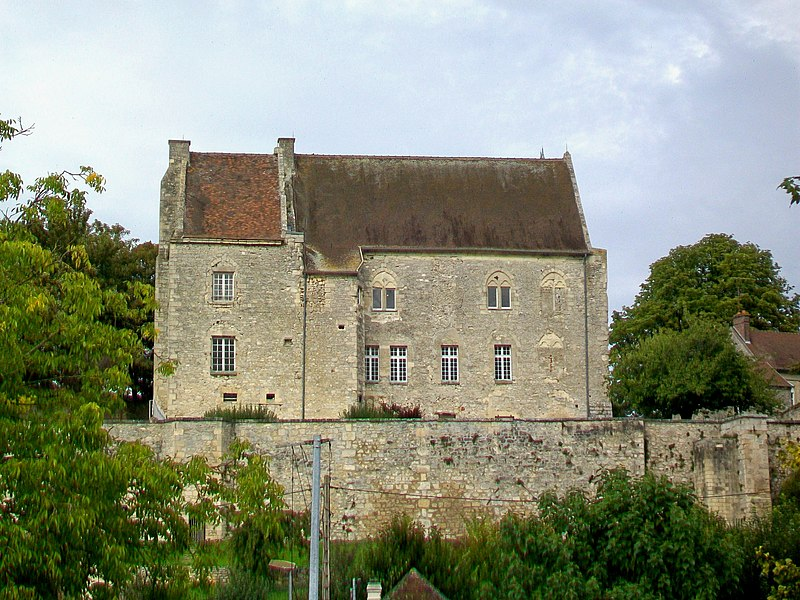 Photo du Monument Historique Ancien château Saint-Aubin situé à Crépy-en-Valois