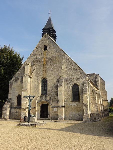 Photo du Monument Historique Eglise de Bouillant situé à Crépy-en-Valois