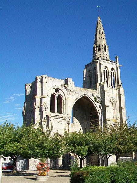 Photo du Monument Historique Restes de l'église Saint-Thomas situé à Crépy-en-Valois