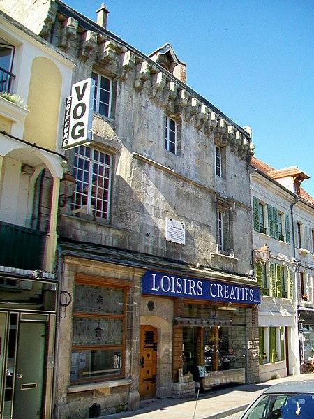Photo du Monument Historique Maison dite ancien Hôtel d'Orléans situé à Crépy-en-Valois