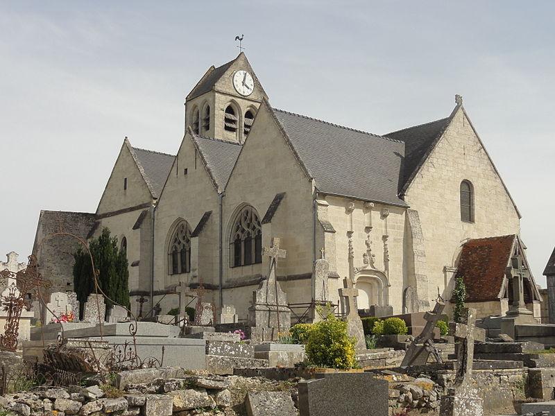Photo du Monument Historique Eglise et cimetière qui l'entoure situé à Duvy