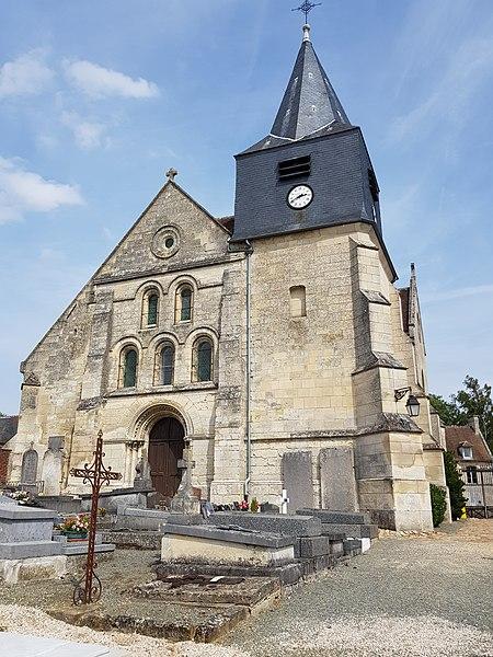 Photo du Monument Historique Eglise situé à Elincourt-Sainte-Marguerite