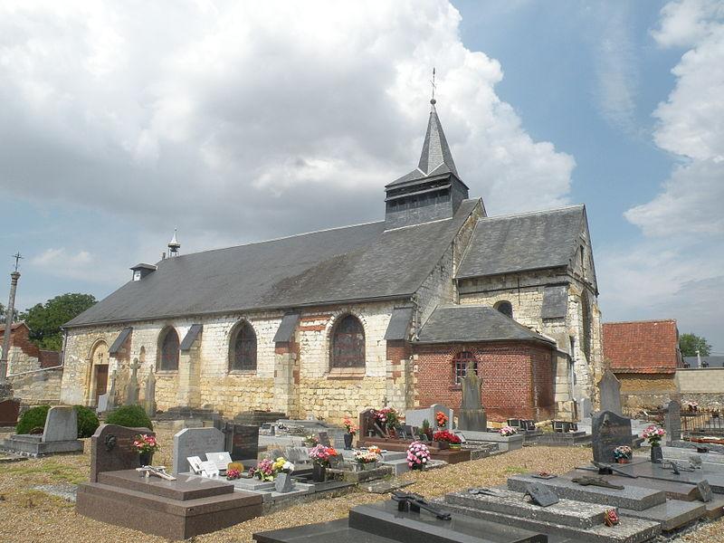 Photo du Monument Historique Eglise situé à Le Fay-Saint-Quentin