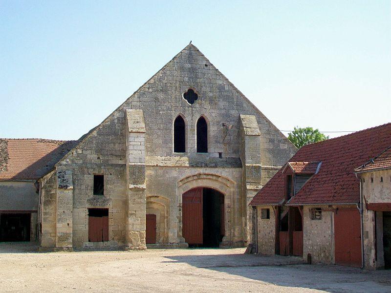 Photo du Monument Historique Grange de la ferme de Fourcheret situé à Fontaine-Chaalis
