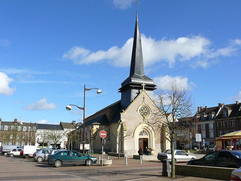 Photo du Monument Historique Eglise situé à Grandvilliers