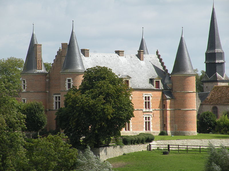 Photo du Monument Historique Château situé à Hannaches