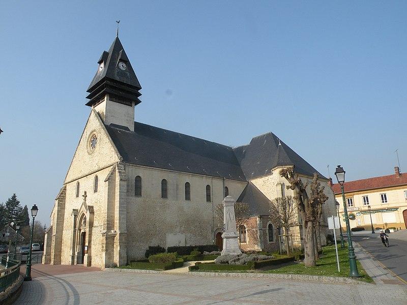 Photo du Monument Historique Eglise situé à Hermes
