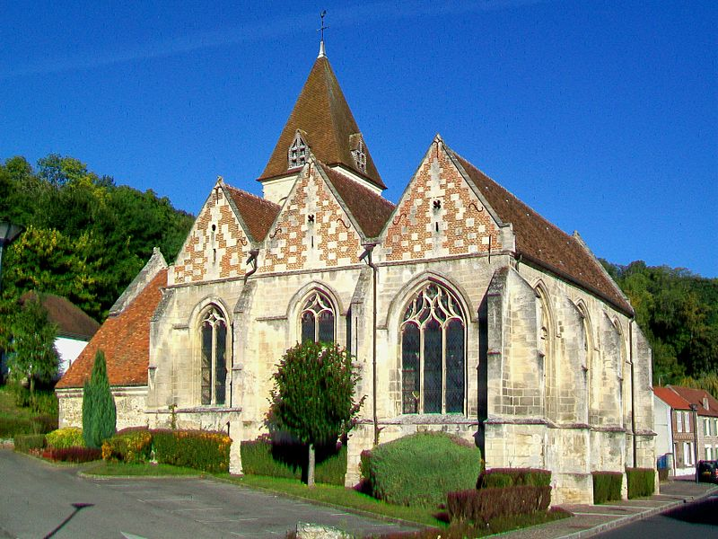 Photo du Monument Historique Eglise Saint-Pierre situé à Jaux