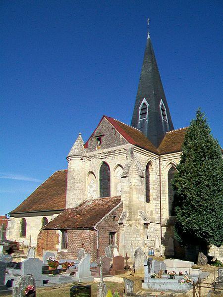 Photo du Monument Historique Eglise Saint-Nicolas situé à Jonquières