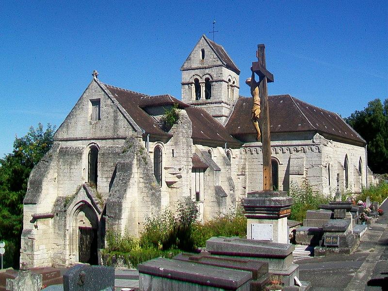 Photo du Monument Historique Eglise situé à Laigneville