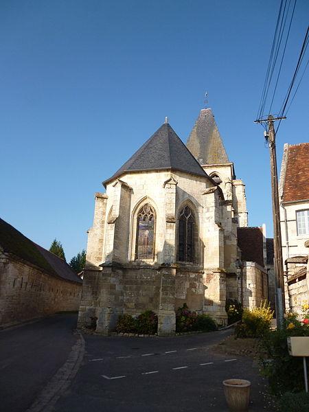 Photo du Monument Historique Eglise Saint-Eloi situé à Léglantiers