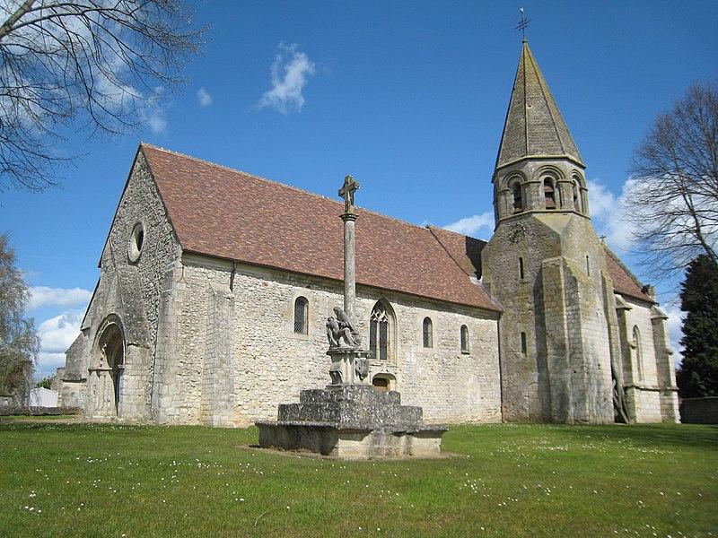 Photo du Monument Historique Eglise Saint-Martin situé à Lierville