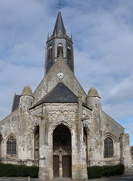 Photo du Monument Historique Eglise Sainte-Marie-Madeleine de Maignelay situé à Maignelay-Montigny