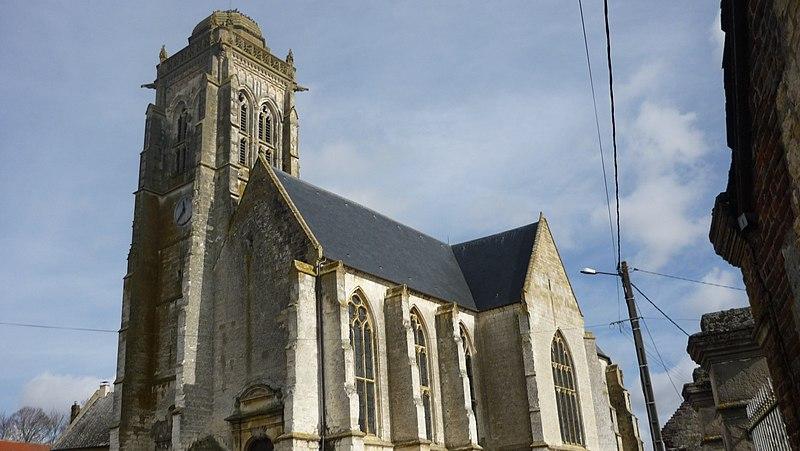 Photo du Monument Historique Eglise Saint-Martin de Montigny situé à Maignelay-Montigny