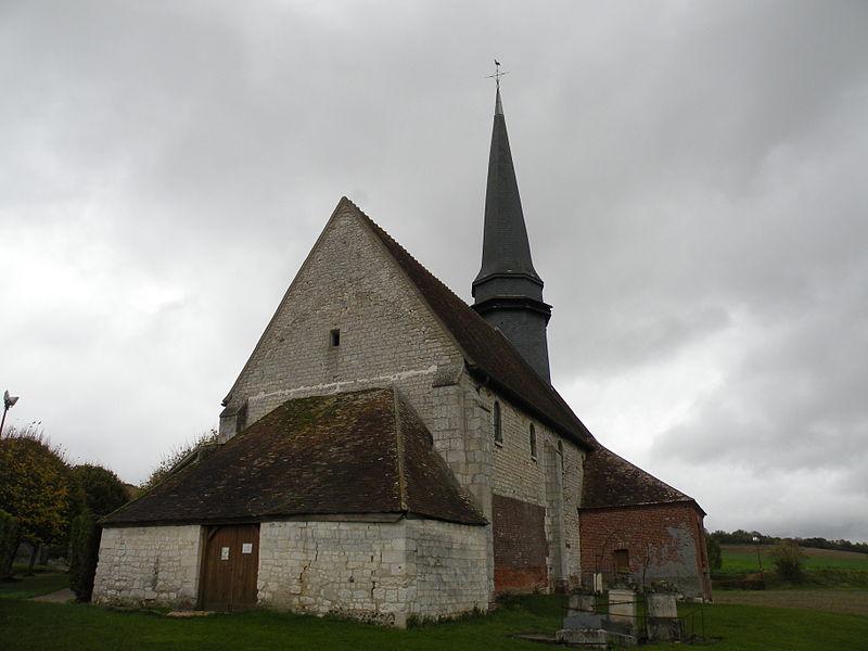 Photo du Monument Historique Eglise de Saint-Martin-le-Noeud situé à Aux Marais