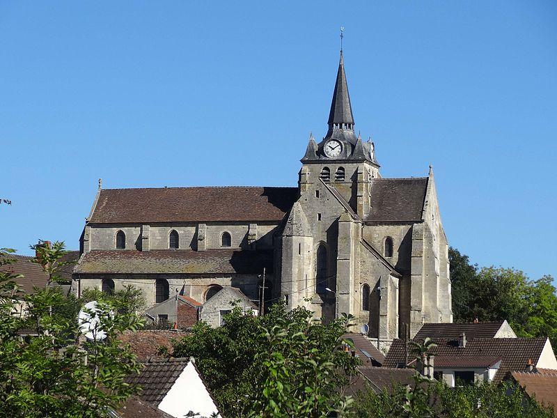 Photo du Monument Historique Eglise situé à Mareuil-sur-Ourcq