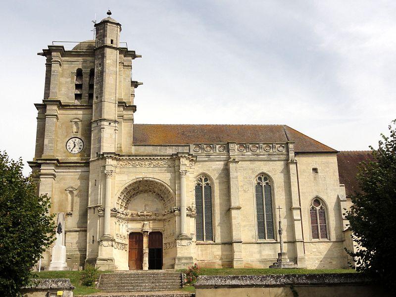 Photo du Monument Historique Eglise situé à Montjavoult