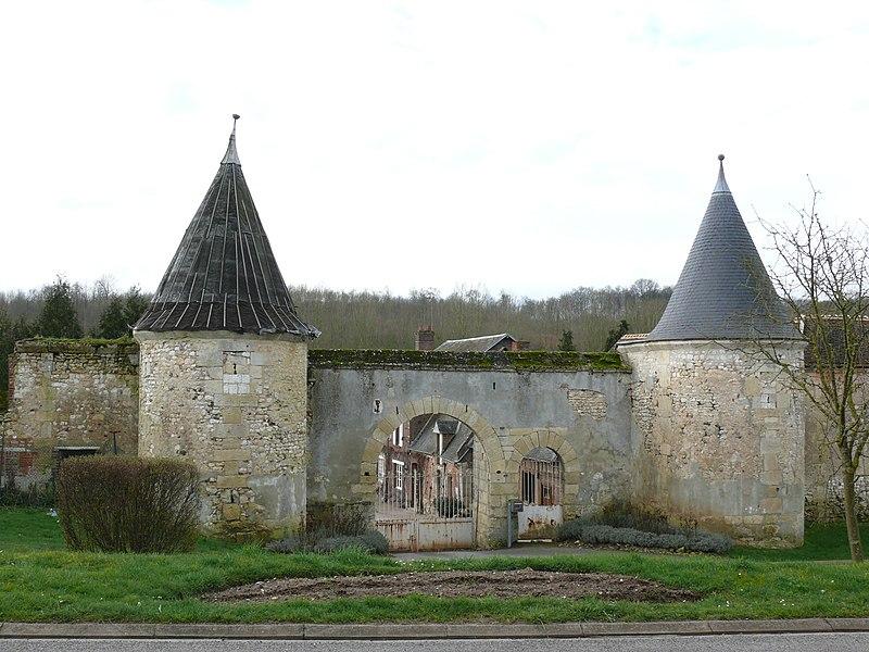 Photo du Monument Historique Ferme de Poneaux ou de Tournelles situé à Montreuil-sur-Brêche