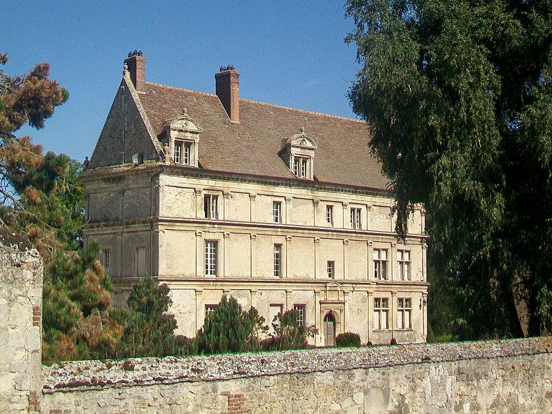 Photo du Monument Historique Manoir de Mulleux (ou Hulleux) situé à Néry