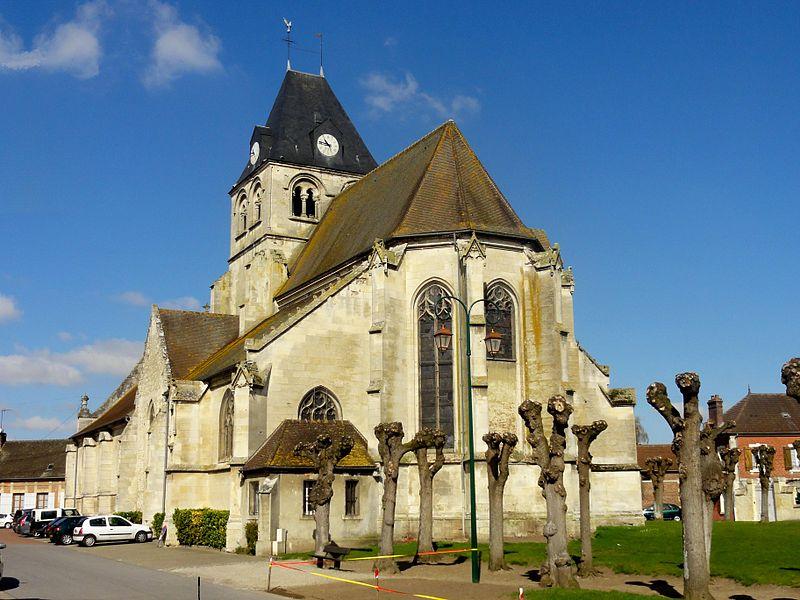 Photo du Monument Historique Eglise Notre-Dame de la Nativité situé à La Neuville-en-Hez