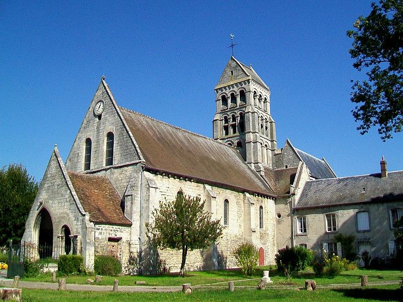 Photo du Monument Historique Eglise Saint-Marie-et-Sainte-Brigitte de Nogent-les-Vierges situé à Nogent-sur-Oise