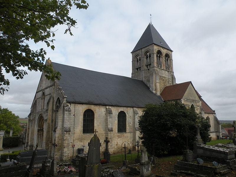 Photo du Monument Historique Eglise situé à Nointel