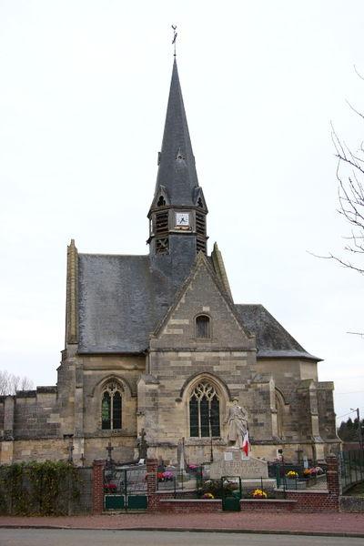 Photo du Monument Historique Eglise situé à Plessis-de-Roye