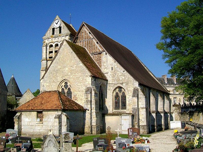 Photo du Monument Historique Eglise situé à Raray