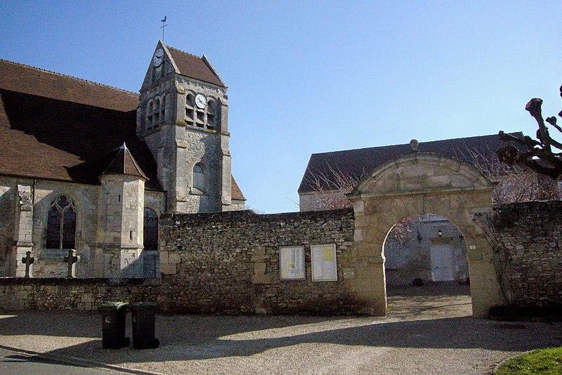 Photo du Monument Historique Presbytère situé à Raray