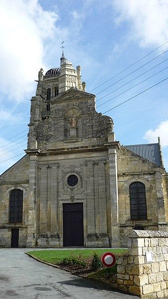 Photo du Monument Historique Eglise situé à Ravenel