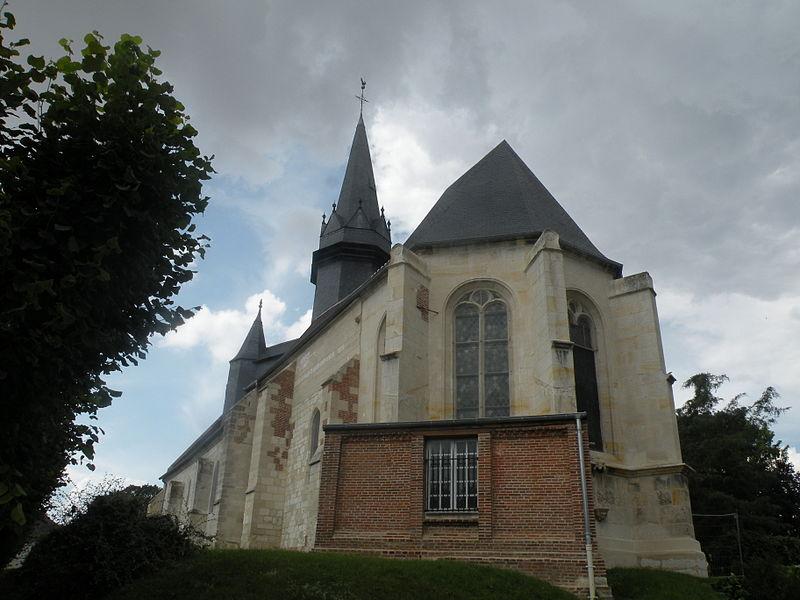 Photo du Monument Historique Eglise situé à Rémérangles