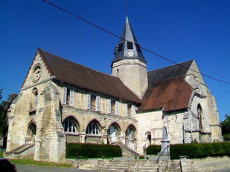 Photo du Monument Historique Eglise situé à Rieux