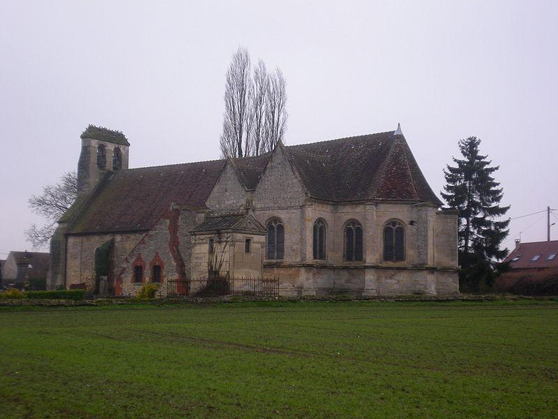 Photo du Monument Historique Eglise et cimetière qui l'entoure situé à La Rue-Saint-Pierre