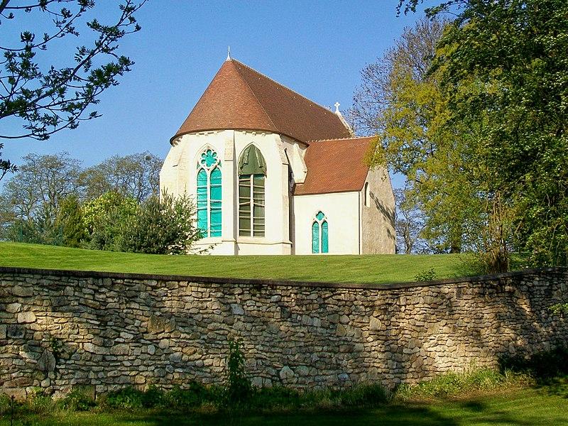 Photo du Monument Historique Ancien prieuré Saint-Victor de Bray situé à Rully